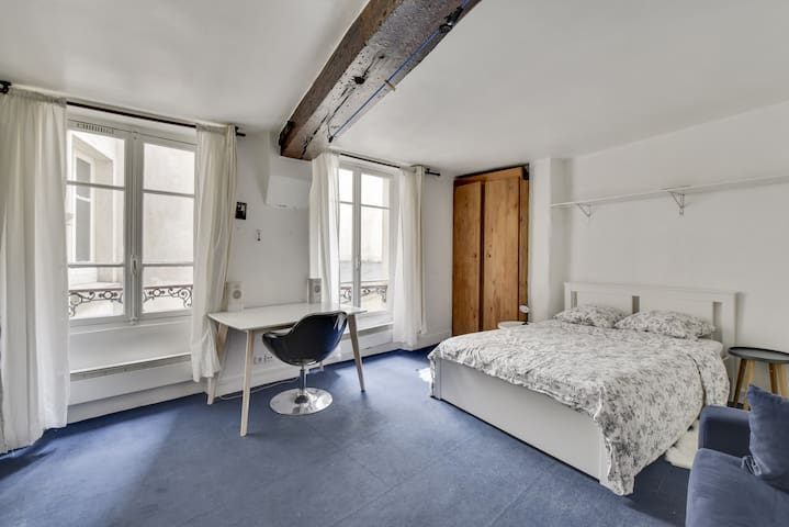 Cosy flat in the heart of LE MARAIS (center Paris)