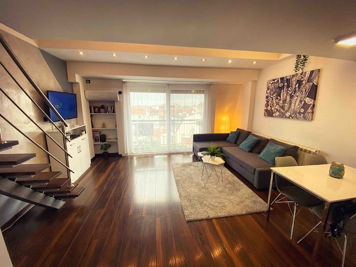 Belgrade City Center Modern Lux Apartment