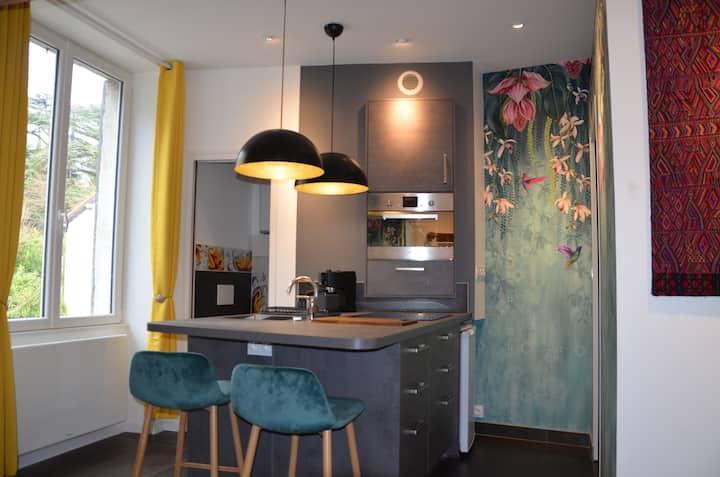 Studio tout confort optimisé - lit escamotable