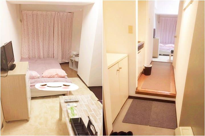 东京民宿池袋周边 上野东京站各中心直达 高级小型公寓整租 - Kawaguchi-shi