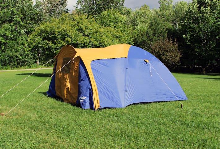Stress-free camping at McRae Provincial Park