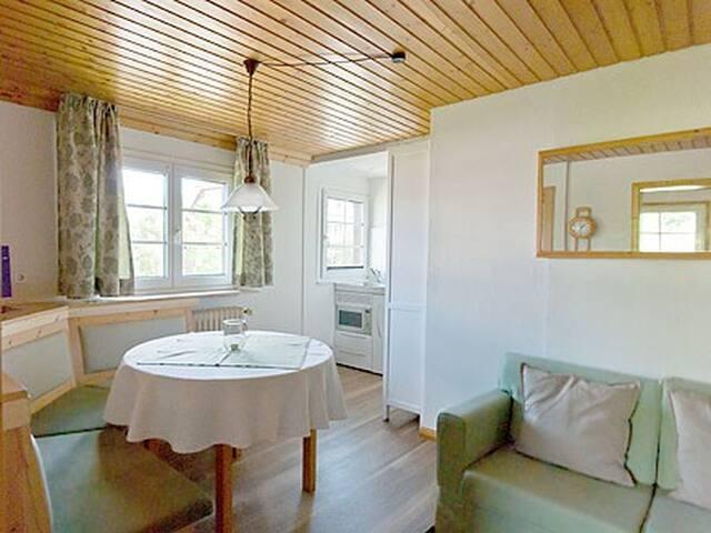 Bruggerhaus, (Hinterzarten), Ferienwohnung 2, 28qm, 1 Schlafzimmer, max. 2 Personen