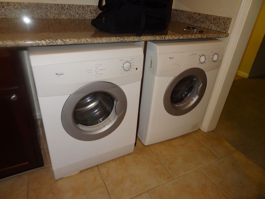 In-Unit Wash and Dry