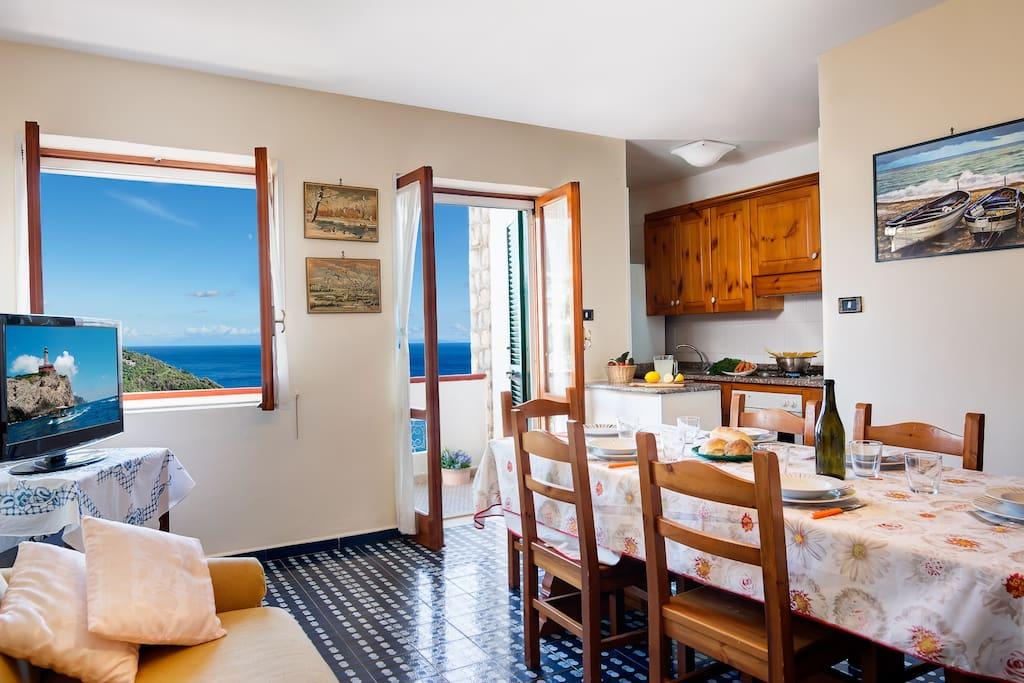 Casa maradona a delightful apartment appartamenti in for Semplice casa con 3 camere da letto piani kerala