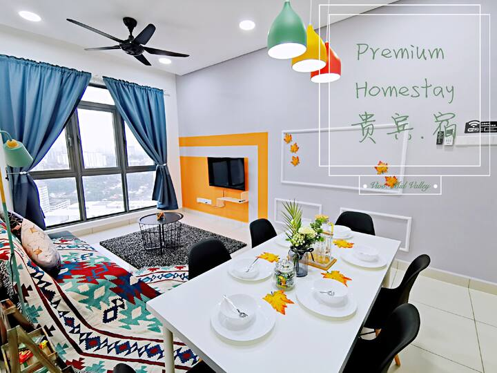 Premium HOMESTAY@VIVO KL 3 min to mid Valley /MRT