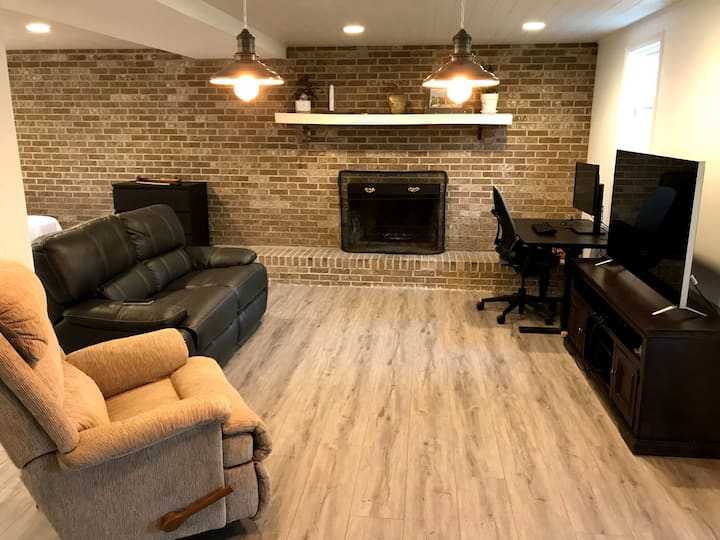 Renovated Basement in Baldwin