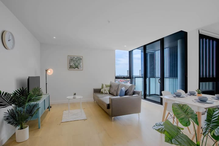 80*EvelynGreen*2BR1Bth Apt*Collingwood* Close CBD
