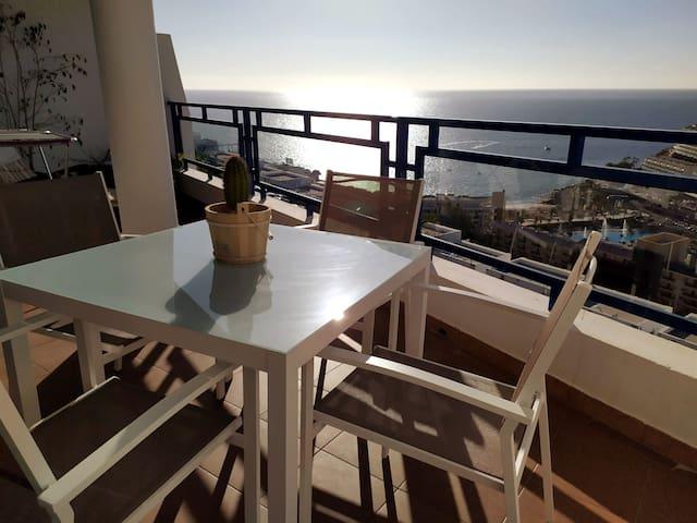 Ocean view apartment - Top floor
