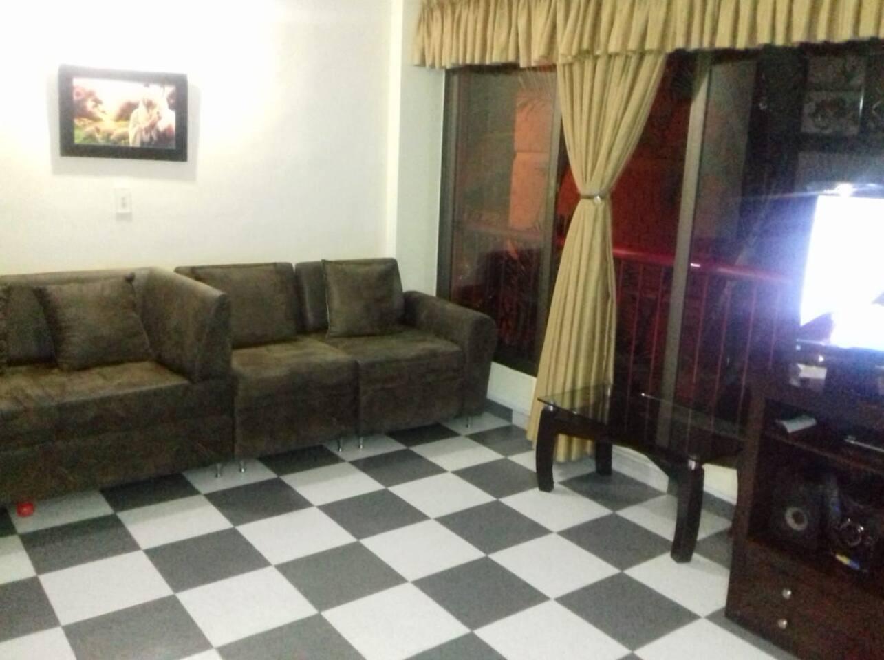 Salon para descansar y ver tv