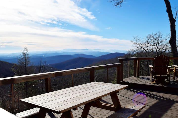 Prayer Ridge - 4250' elevation, 50 mile views
