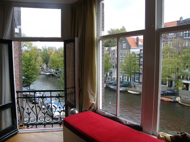 Stunning view Canal  downtown Amsterdam