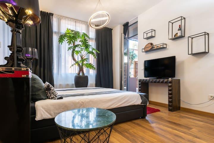 High Level Apartment mit Terasse ab 3 Personen