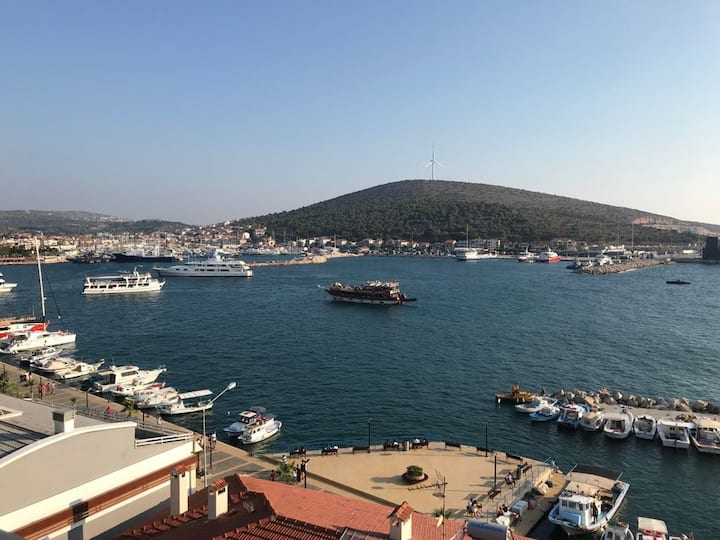 Panorama Apartment with a view to Çeşme Marina