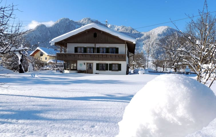 Urlaub in Ideallage am Brauneck, Winter und Sommer - Lenggries - Appartement
