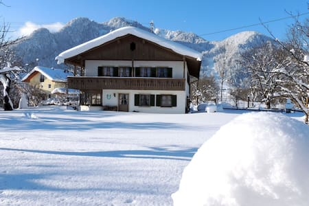 Urlaub in Ideallage am Brauneck, Winter und Sommer - Lenggries - Apartment