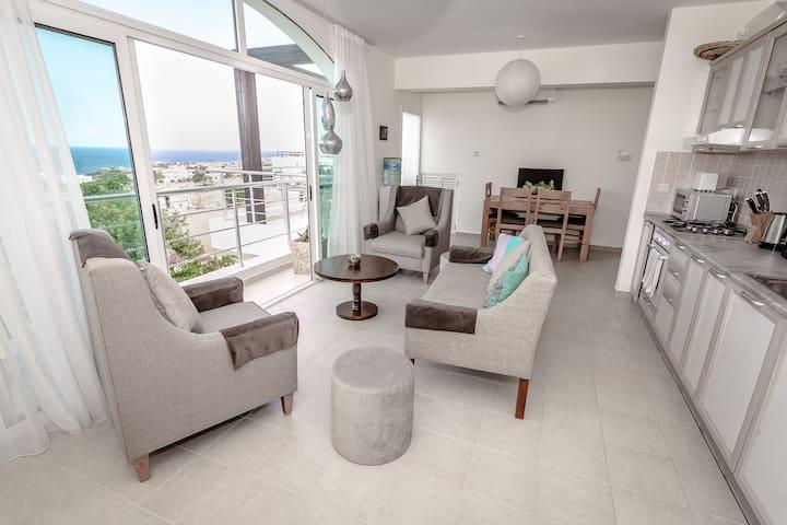 Joya Cyprus Moonlit Penthouse Apartment