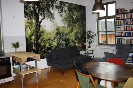 Maisonette Apartment with Yoga-Space - Daire