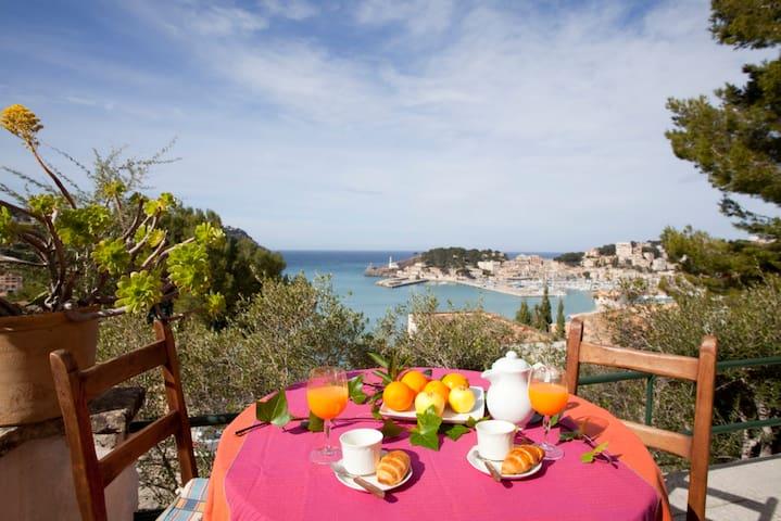 Castanyetes -  House with sea views - Port de Sóller - Apartamento