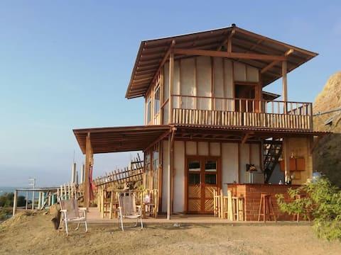 Cabaña de playa, punta mero, plateritos.