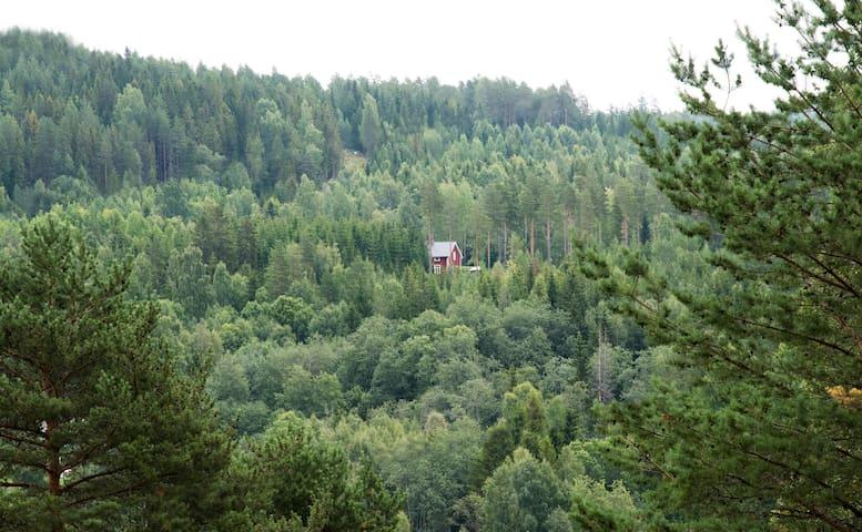Torpet i Sjö, lugnt tyst bekvämt, nära Höga Kusten