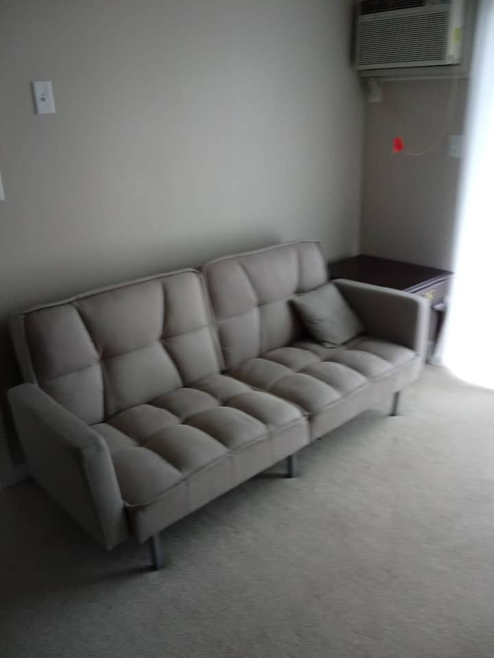 1 bedroom lakeview condo, $945/mth, avail Sept