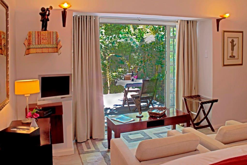 Garden Room seen from inside