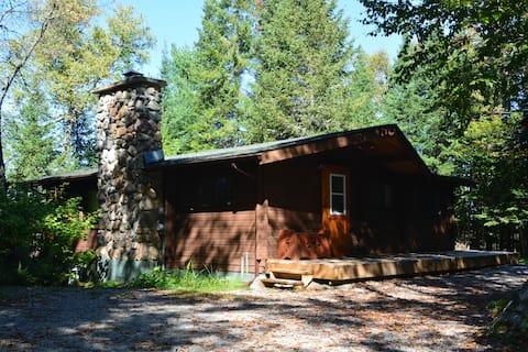 Pan-Abode Log House