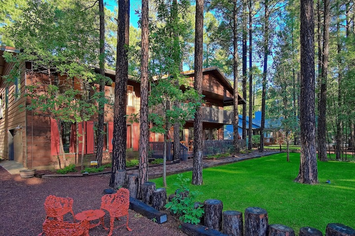 DON'T MISS THIS One Of A Kind Cabin In The Pines!