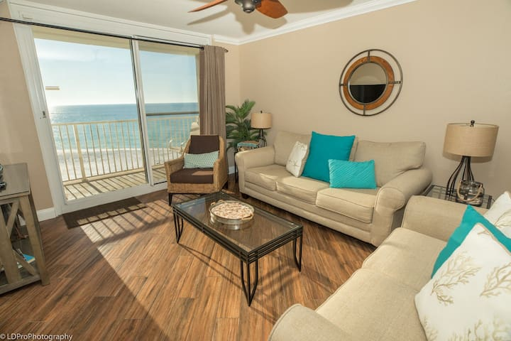 DOTG 704 is a completely Renovated Gulf front 2 BR with washer/dryer
