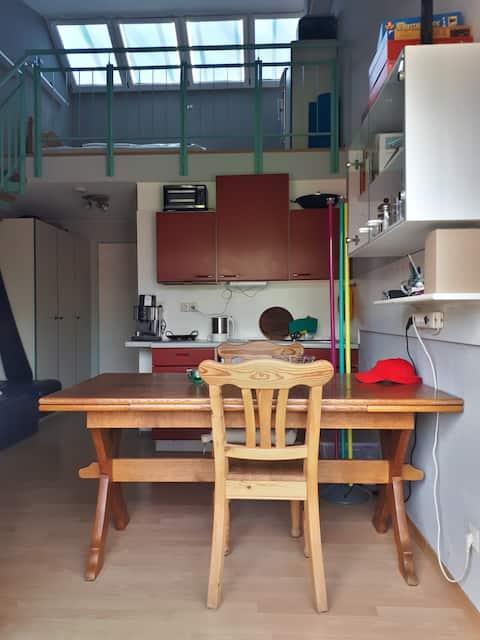 pequeño apartamento dúplex Konstanz
