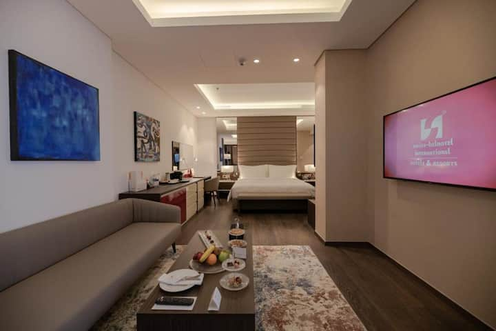 Junior Suite at Swiss-Belboutique Bneid Al Gar