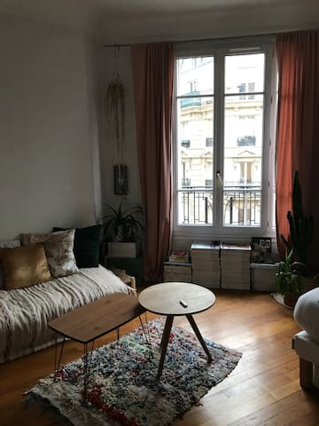 Cosy flat near Montmartre