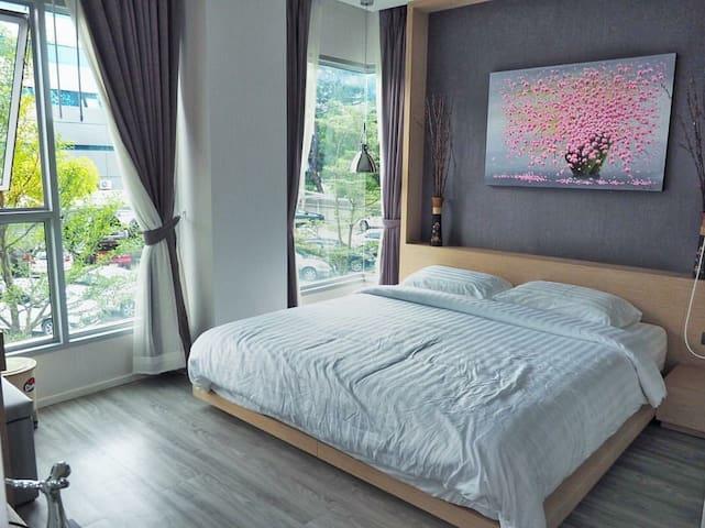 Modern 2 bedrooms Condo in the City - เทศบาลนครเชียงใหม่ - Condominio