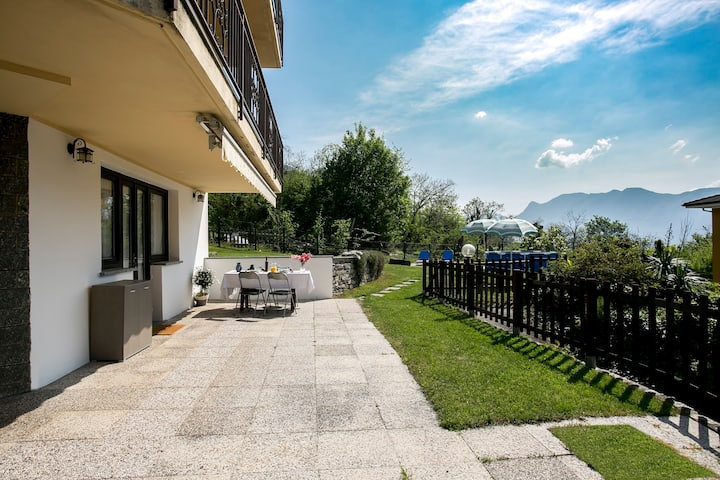Appartamento Bice vista lago Maggiore, Arizzano