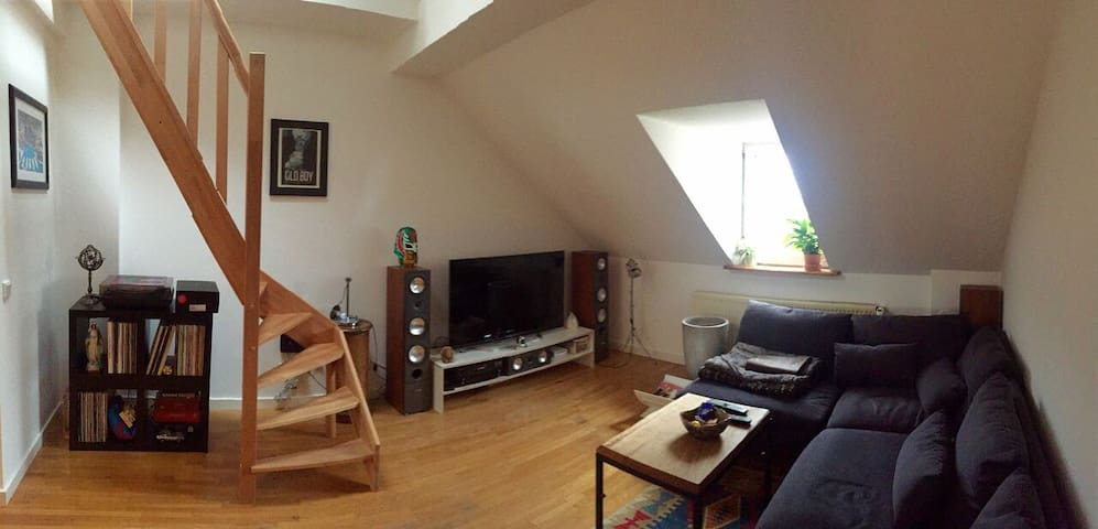 Cozy Loft near Central Station - Nürnberg - Apartment