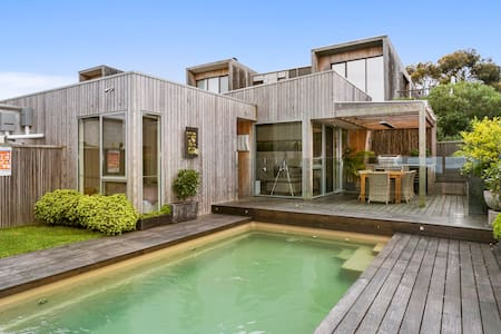 Ocean Grove pool house with views - Ev