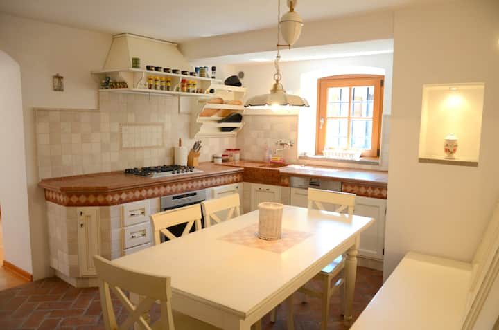 Luxury and charming Karst House in idyllic village