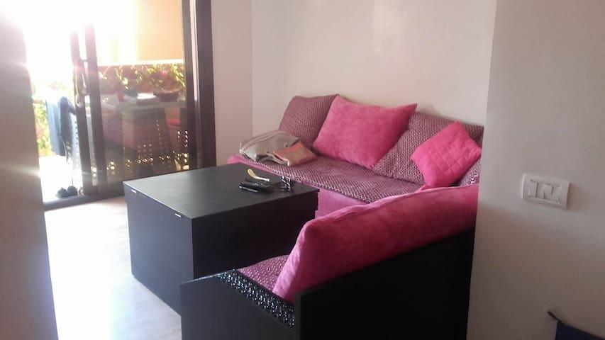 bel appartement bien meublé et très calme sécurisé - Marrakesh - Appartement
