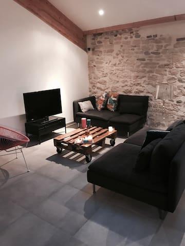Loft dans le centre de Bourgoin - Bourgoin-Jallieu - Apartment
