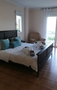 Spectacular room Ensuite overlooking Lake - Beniarrés - Talo
