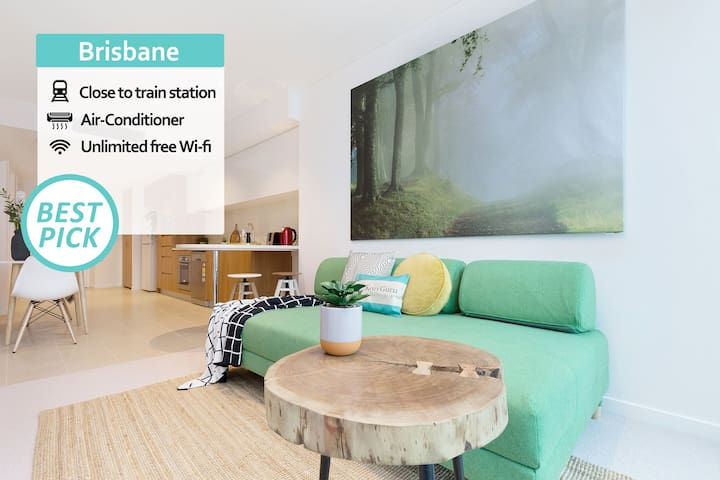 KOZYGURU | SKYTOWER | Brisbane CBD | 2 BED APT | QBN22218
