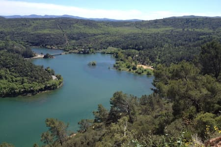 La Régalade,  quiet, stunning  lake view, private - Carcès - Villa