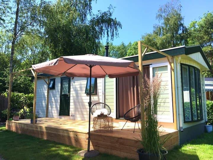 Stijlvol tiny polderhuis voor rustzoekers.