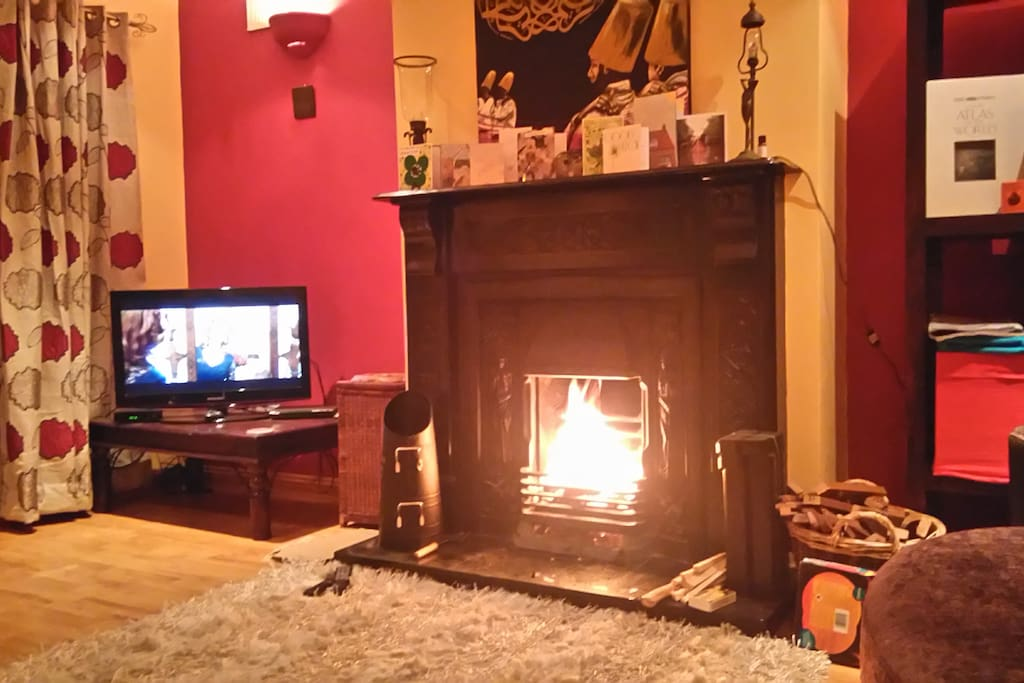 A cosy fire!