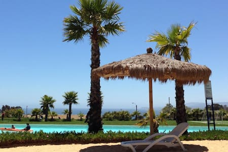 Algarrobo, excelente depto, vista insuperable - Algarrobo - 公寓