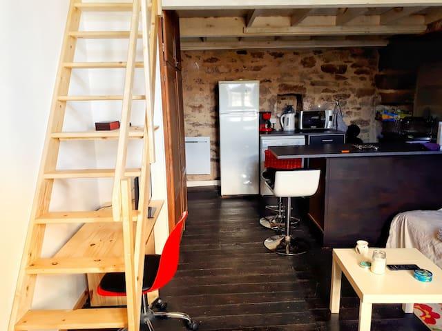 Appartement4 de charme 4 personnes coeur de Rodez