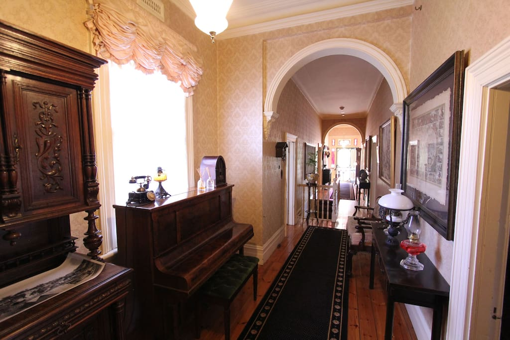 Entry Passage - to be shared with other guests