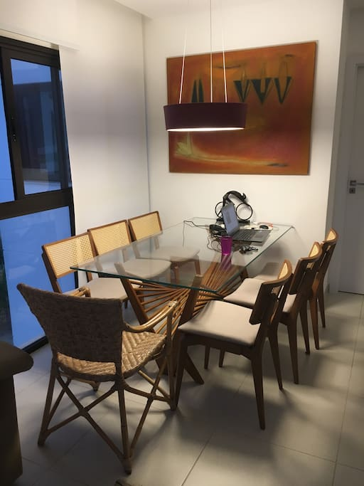 Sala de Jantar para 7 pessoas