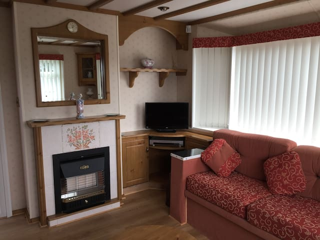 Luxury caravan Skegness with central heating - Skegness
