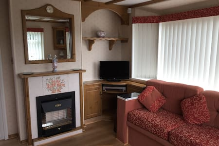 Luxury caravan Skegness with central heating - Skegness - Inny
